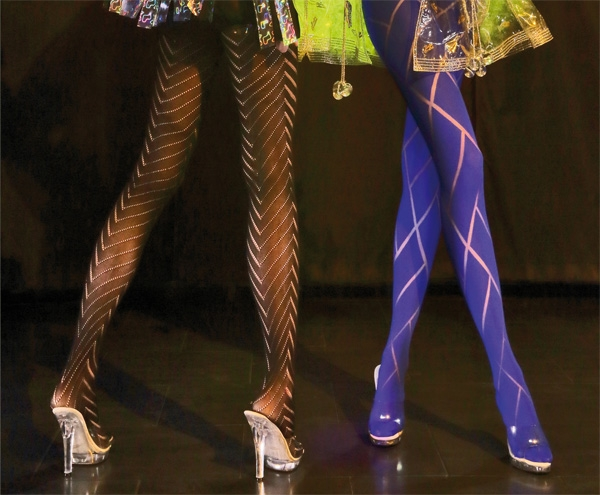 Tights Hosiery For Women Ladies Fishnet Tights Lace And Opaque Beauteous Women's Patterned Tights
