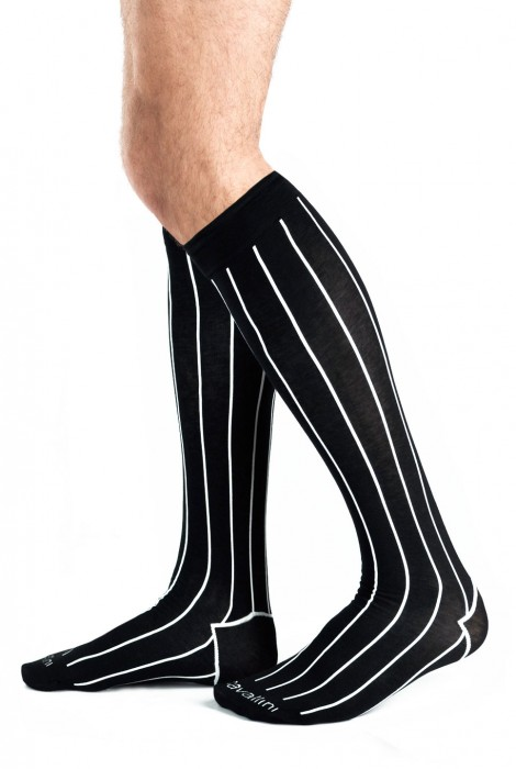 PIN STRIPES SOCKS