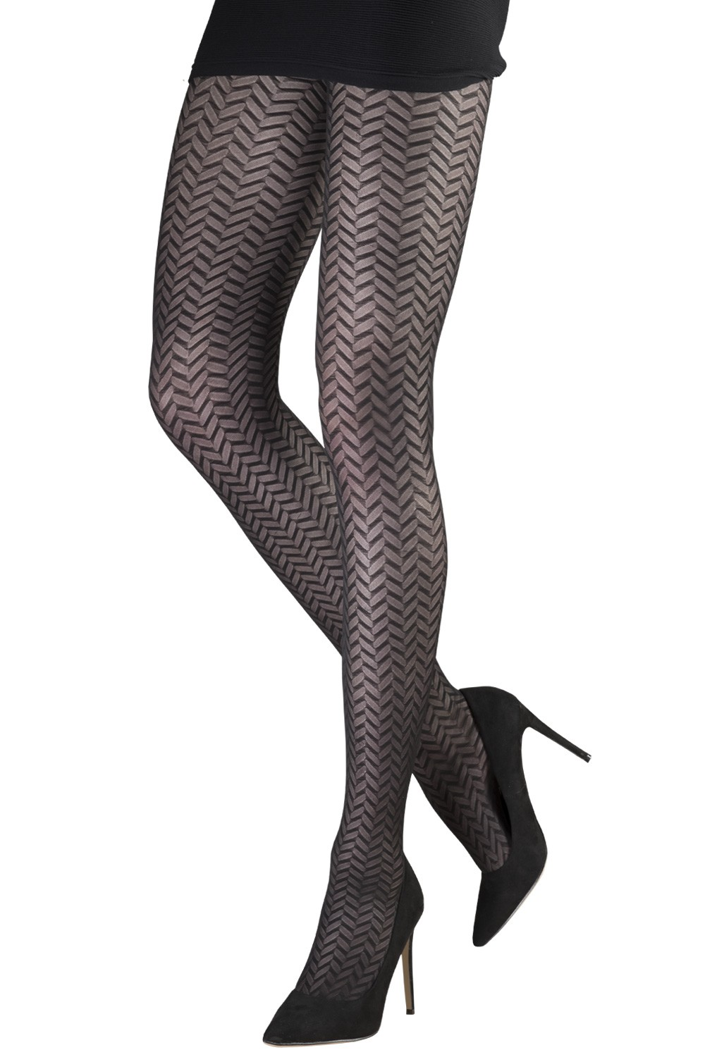 7ae746aa4fb4f Small Herringbone Tights| Tights & Hosiery | Women | Emilio Cavallini