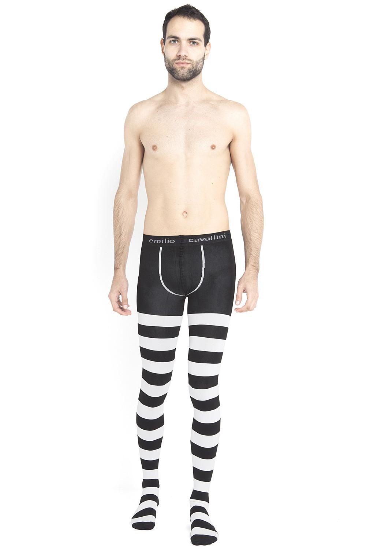 7a3b24687d6c8 Horizontal Stripes Mantyhose   Mantyhose: Tights for Men   Emilio ...