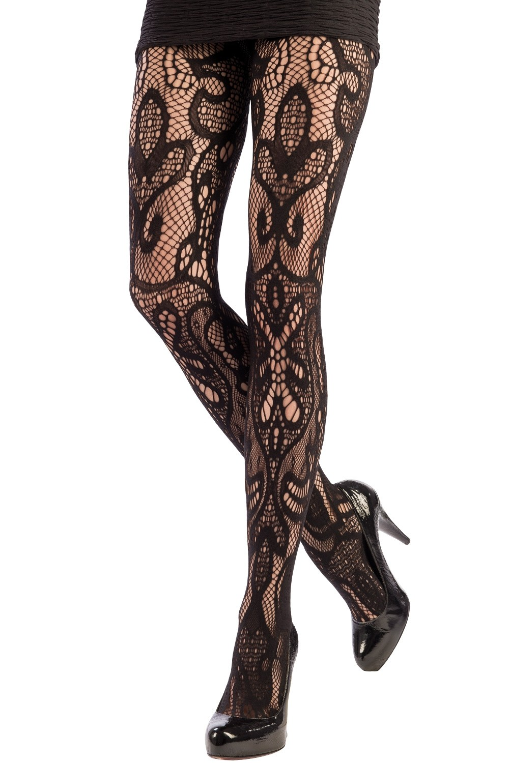 a88f90428 ORIENTAL LACE TIGHTS. Click to expand
