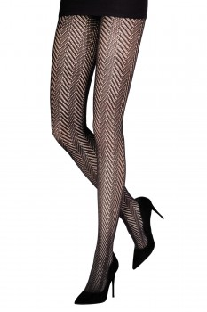 HERRINGBONE OPENWORK TIGHTS