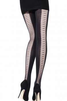 SHEER DOUBLE NET BAGUETTE TIGHTS