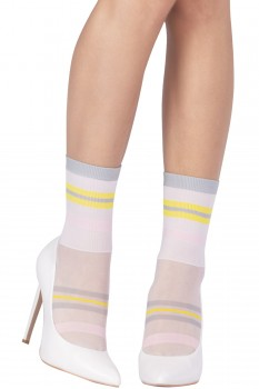 COLOR BLOCKING SOCKS