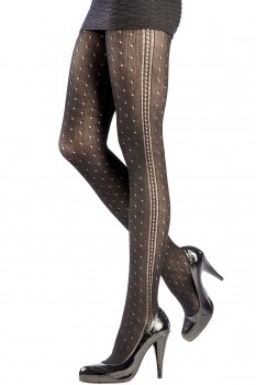 ELEGANT TIGHTS WITH DOTS