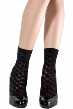 DIAMOND OPENWORK SOCKS