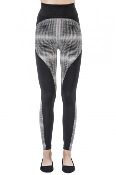 TECHNO GRID LEGGINGS