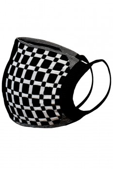 2 PACK- GRID FACE MASK