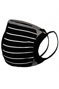 2-PACK PIN STRIPES FACE MASK