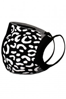 2 PACK LEOPARD FACE MASK