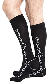 BROKEN CHAIN SOCKS
