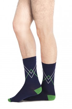 CRISS-CROSS CREW SOCKS