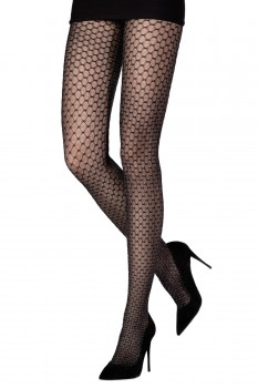 SPARKLE DOUBLE NET TIGHTS