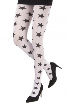 TWO TONED STARS TIGHTS