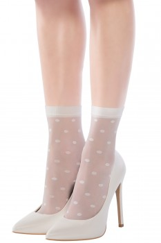 POLKA DOTS ANKLE SOCKS