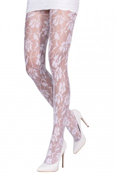CONTEMPORARY LACE TIGHTS