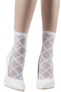 LARGE DIAMOND SOCKS
