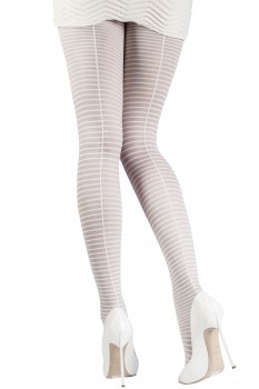 THIN-STRIPED TIGHTS
