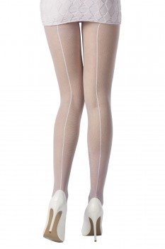 BACK SEAM MICROMESH TIGHTS