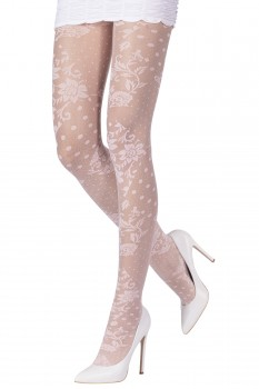 PATCHWORK LACE TIGHTS