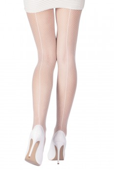 BACK SEAM FISHNET TIGHTS