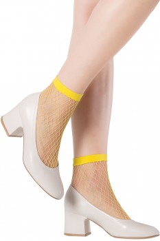 MINIMAL NET ANKLE SOCKS