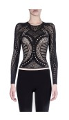 ENGINEERED LACE TOP