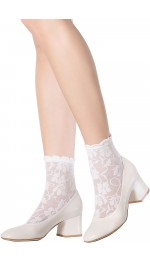 CONTEMPORARY LACE ANKLE SOCKS