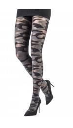 SPARKLE CAMOUFLAGE TIGHTS