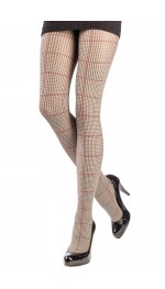 ENGLISH HOUNDSTOOTH TIGHTS