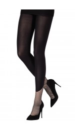 TIGHTS WITH NET SOCKS