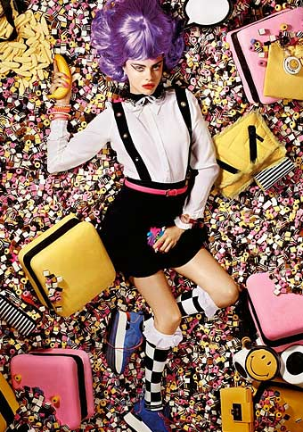 Cara Delevigne wears Emilio Cavallini Tights