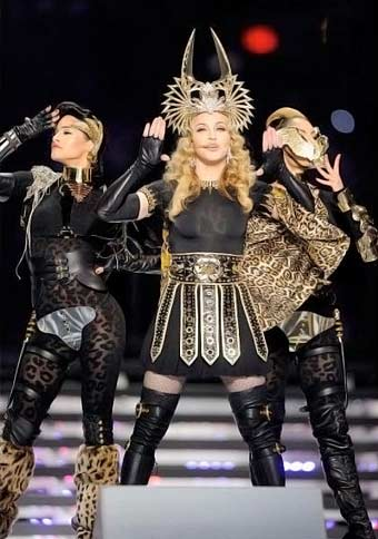 Madonna's Dancers wears Emilio Cavallini Tights