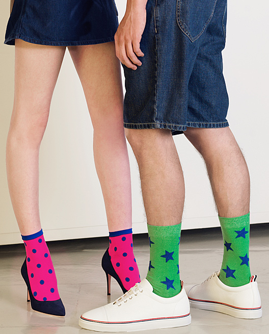 Spring Summer 2018 Collection: colorful Tights, Socks and Pantyhose,