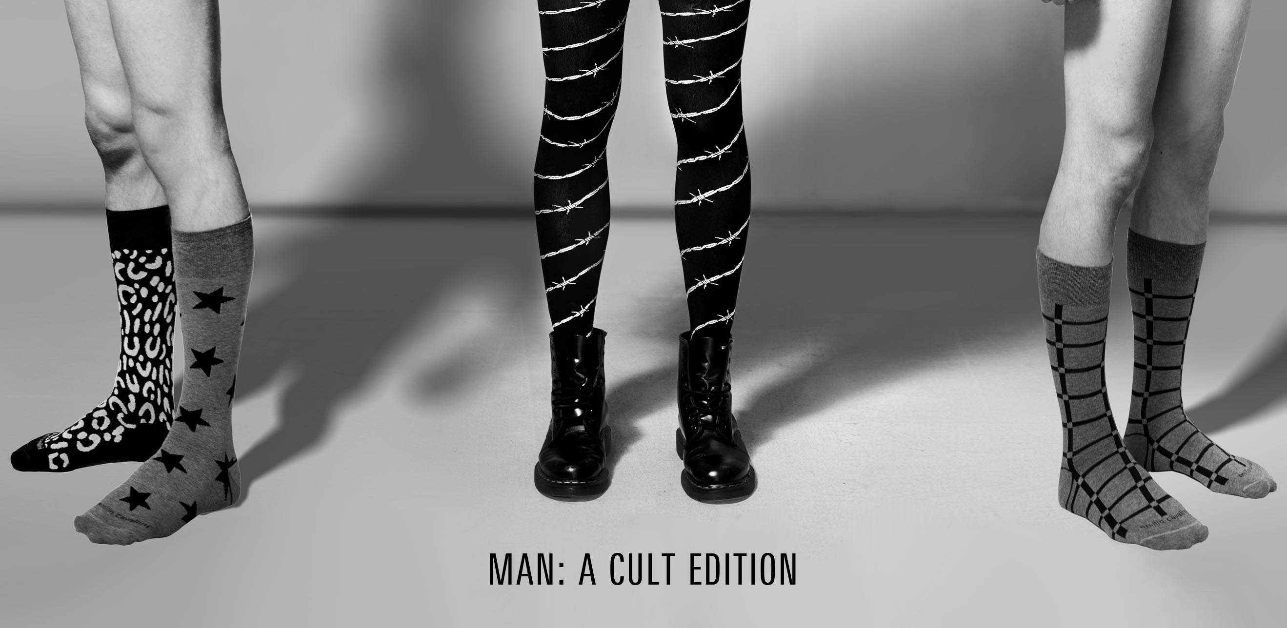 Cult Edition for Man - Tights for Man Mantyhose and Socks